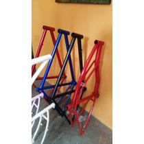 Cuadro De Bicicleta Retro Montaña Carrera Fixie Ruta Cross