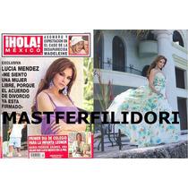 Lucia Mendez Revista Hola Mexico De Septiembre 2007