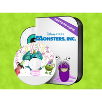 Ki-092 Kit Imprimible Editable Monster Inc. Cumpleaños
