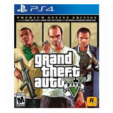 Grand Theft Auto V Gta 5 - Premium Edition Ps4 Playstation 4