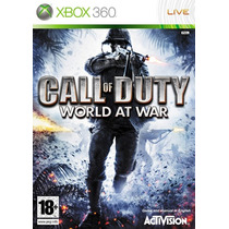 Call Of Duty World At War Xbox 360 Usado Blakhelmet C