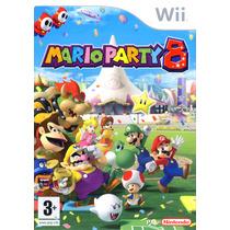 Juego Mario Party 8 Para Wii Usado Blakhelmet