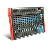 12 Canales Mezcladora Bluetooth Ecualizador Efectos Mixer