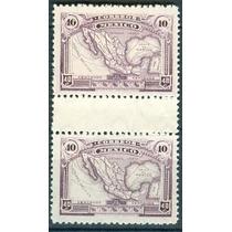 Sc 647a Año 1923 Mapa De La Republica Mnh Con Puente Gutter