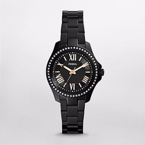 Reloj Fossil Jesse Black Stainless Steel Am4585 | Watchito