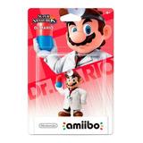 Amiibo Dr. Mario Super Smash Bros (en D3 Gamers)