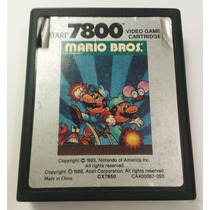 Mario Bros Atari 7800 Cartucho Retromex Tcvg