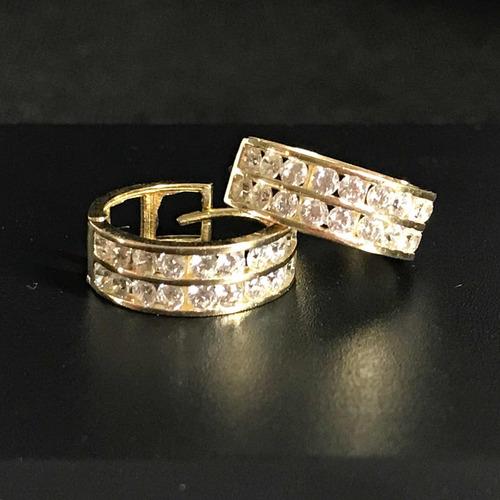 1369518a6e62 Aretes Arracadas Oro 10k Piedras Zirconias en venta en Jardines Del ...
