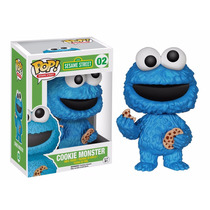 Moustro Come Galletas Funko Pop Plaza Sesamo Cookie Monster