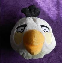 Angry Birds! Peluche De Pájaro Blanco, Mide 22cm