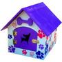 Preciosa Casa Para Mascota. Tamaño Mediana.
