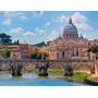Puzzle Ravensburger 2000 Piezas Puente Angeles Roma 16686