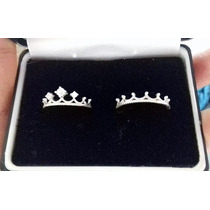 Anillo Corona Rey Y Reyna Plata Diamante .925, Envio Gratis!