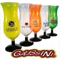 $16 Copa Huracan 15 Oz Plastico Pvc Colores Neon Antro Bar