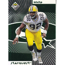 1998 Ud Choice Green Starquest Reggie White Wadsworth