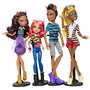 Monster High Un Paquete De Problemas 4 Muñeca Set