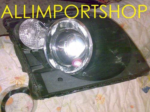 Kit lupas o proyectores oem con biseles y xenon incluido - Proyectores de luz ...