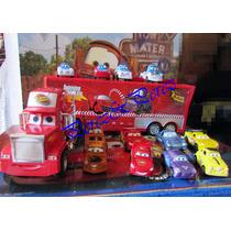 Cars Mack Trailer De Rayo Mcqueen Y 8 Cars