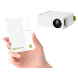 Mini Proyector Led Ultra Pocket 600 Lumens Hdmi Rca Usb