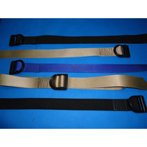 Cinturon Tactico Tipo 5.11 Colores Negro, Kaki Y Azul