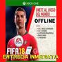 Fifa 18 Xbox One Licencia Digital Offline No Código Copa Mun