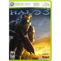 Juego Halo 3 Para Xbox 360 Usado Blakhelmet