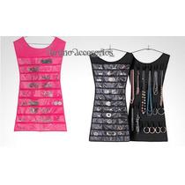 Vestido Guarda Accesorios- Color Negro - Fiusha