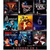 Resident Evil Anthology 9 Juegos Ps3 Digital (no Disco)
