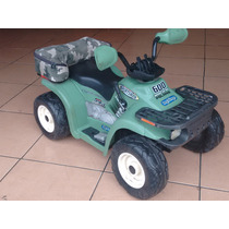 Cuatrimoto Peg Perego Polaris 12 Volts Buen Estado