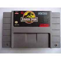 Jurassic Park Para Super Nintendo Snes Excelente Estado