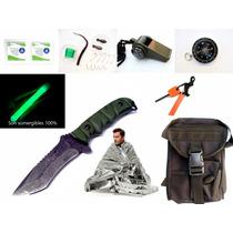 Mega Kit Supervivencia 9271 - 30 Accesorios Envio Dhl Gratis
