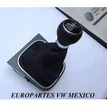 Pomo Bora Jetta A6 Nuevo Original Perilla Funda Velocidades