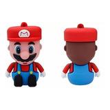Memoria Usb 16gb Figura De Goma Mario Bros Nintendo Pendrive