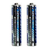 Baterias Aaa Recargables 1200mah Paquete De 2