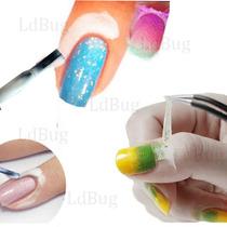 Latex Peel Off Liquido Protege Cuticula 15 Ml + 10 Cristales