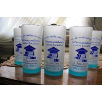 50 Vasos Personalizados, Recuerdos Para Graduación