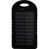 Power Bank Solar 10000 Mah Negro Bateria