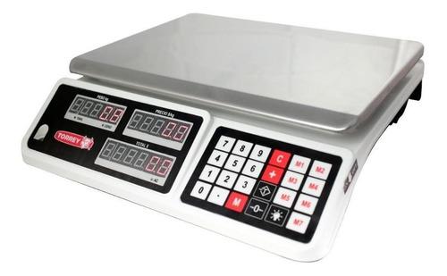 Báscula Comercial Digital Torrey Sxt-30 30 Kg 110v