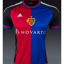 Jersey Fc Basel Adidas Suiza 2015-16 Local Original