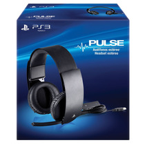 Ps3 Headset Wired Stereo Para Ps3 ¡sólo En Gamers!