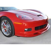 Espoiler Delantero Estilo Zr1 Z06, Para Corvette C6 2006-13
