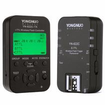 Kit De Controlador Y Transceptor Yn622 Tx Para Canon