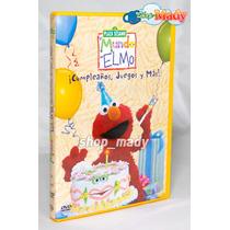 Plaza Sesamo El Mundo De Elmo ¡cumpleaños, Juegos Y Más! Dvd