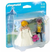 Playmobil Set 5163 Pareja De Novios Blister Boda Ciudad Js