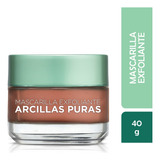 Mascarilla Facial Arcillas Puras, Loreal, 40ml