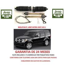 Bieletas P/ Caja Direccion Hidraulica Jeep Nitro Lbf