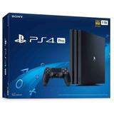 Consola Playstation 4 Ps4 Pro 1tb Nacional Nueva Sellada Msi
