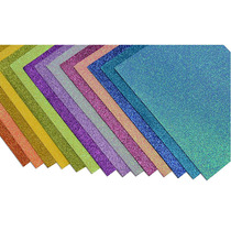 Fommy Diamantado En Hojas Tamaño Carta Paquete C/10 Piezas