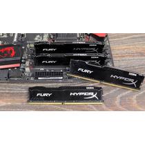 Memoria Ram Ddr4 32gb 2666mhz Kit 4x8 Hyperx Fury Kingston
