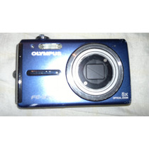 Olympusfe-330 Blue 8.0 Mp Digital Camera W/5xoptical Zom Op4